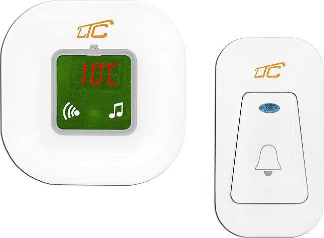 LTC Dzwonek bezprzewodowy z termometrem (LXDZ1) 1
