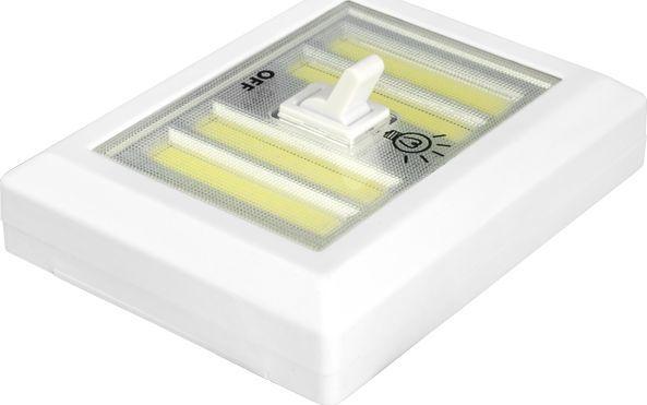 LTC LTC Lampka ścienna włącznik LED COB 3W na baterie + magnes/naklejka. 1