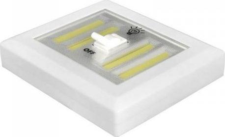 LTC LTC Lampka ścienna duża włącznik LED COB na baterie + magnes/naklejka. 1