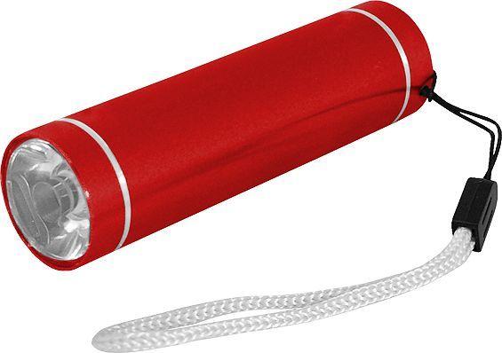 Latarka LTC Latarka ręczna LTC LL38 1W, aluminiowa, CZERWONA. 1