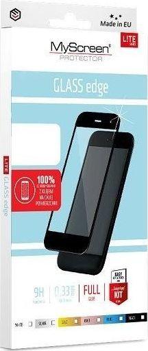 MyScreen Protector MS Lite Glass Edge FG Huawei P40 czarny/black Full Glue 1