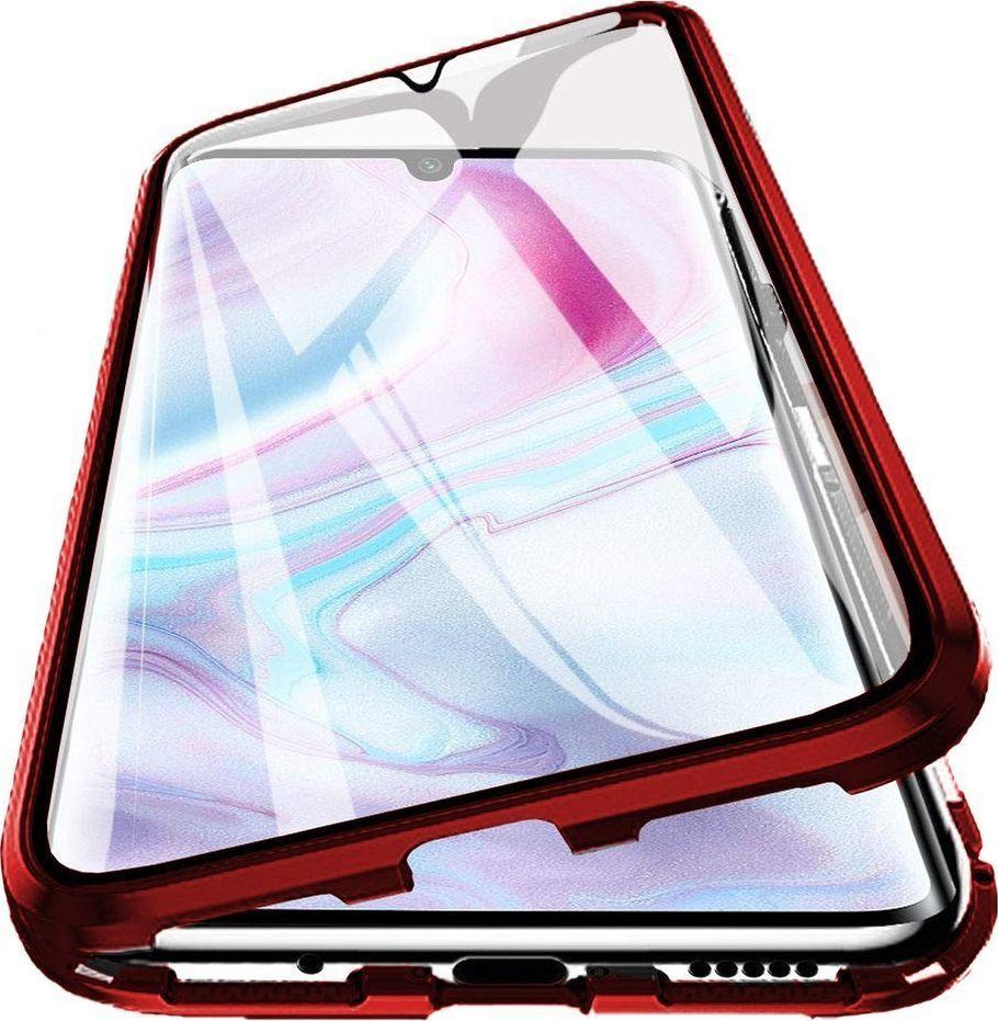 Magnetic Etui Magnetyczne Front+Back Mi Note 10 - Red uniwersalny 1