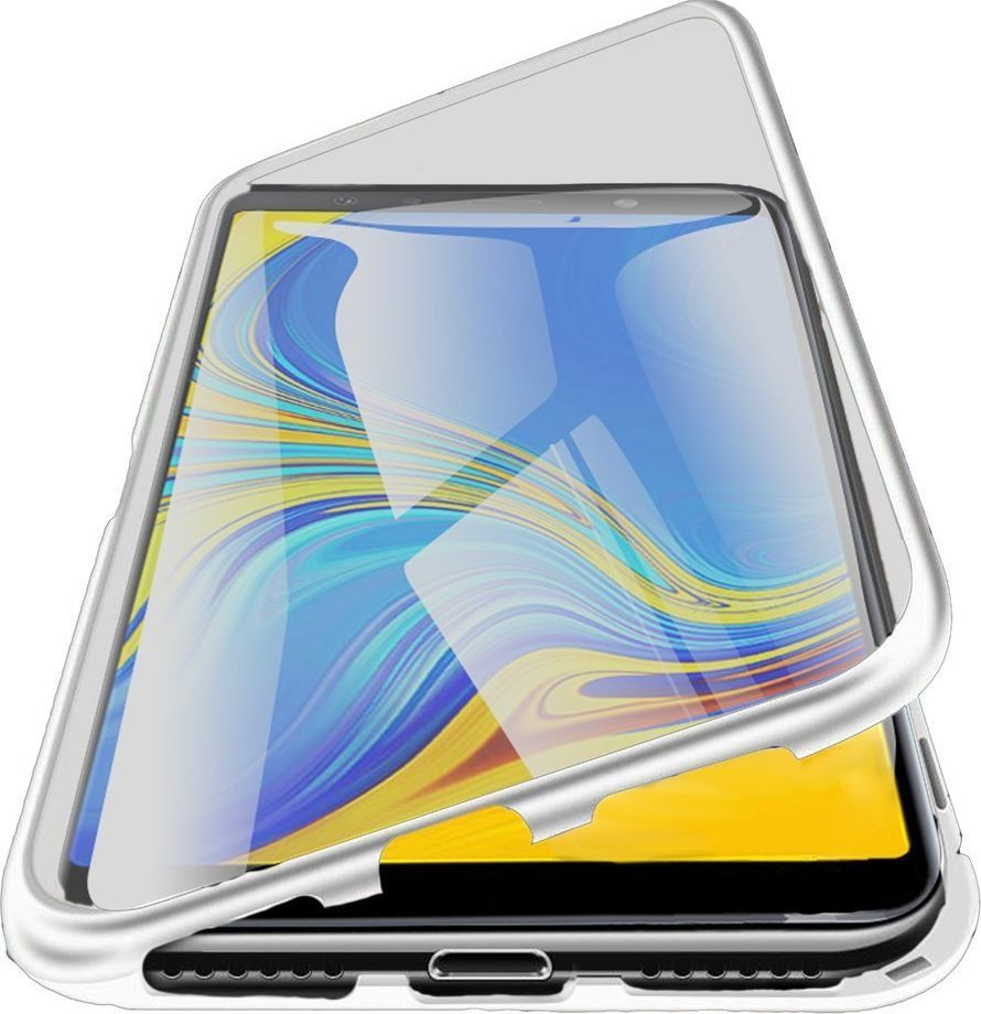 Magnetic Etui Magnetyczne Front+Back Galaxy A51 - Silver uniwersalny 1