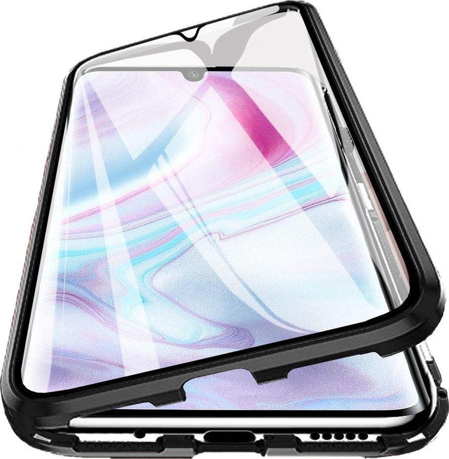 Magnetic Etui Magnetyczne Front+Back Mi Note 10 - Black uniwersalny 1