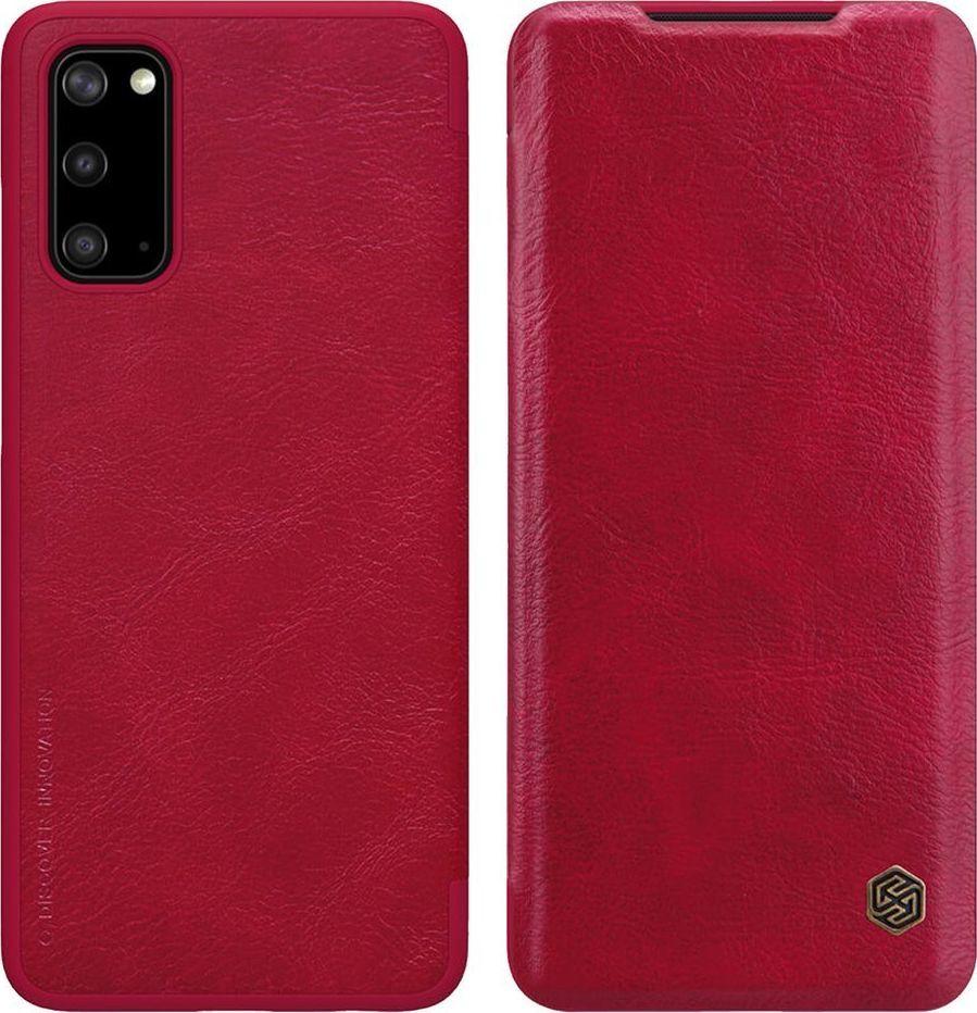 Nillkin Etui Nillkin QIN Samsung Galaxy S20 - Red uniwersalny 1