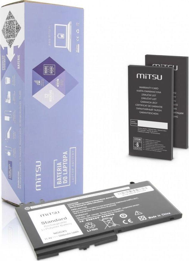 Bateria Mitsu Bateria Mitsu do notebooka Dell Latitude E5250, E5270 1