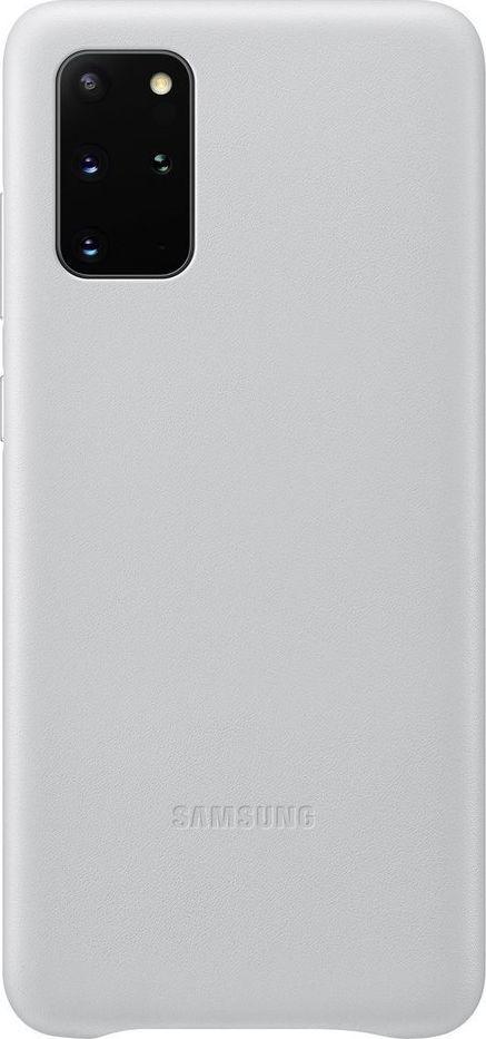 Samsung Samsung Leather Cover Galaxy S20+_SM-G985, light gray 1
