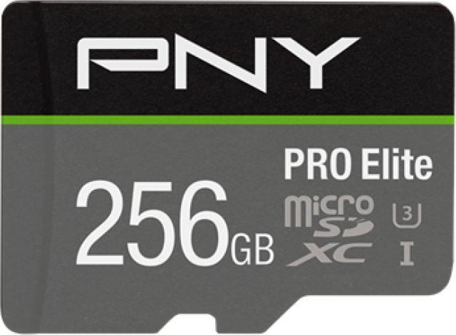 Karta PNY Technologies Pro Elite MicroSDXC 256 GB Class 10 UHS-I/U3 A1 V30 (P-SDU256V31100PRO-GE) 1