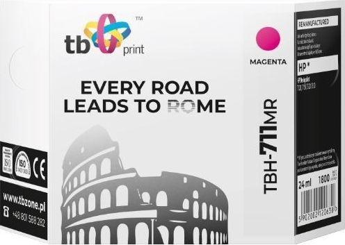 TB Print Tusz do HP DesignJet T530 TBH-711MR MA ref.-TBH-711MR 1