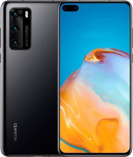 Smartfon Huawei P40 5G 8/128GB Dual SIM Czarny  (P40black) 1