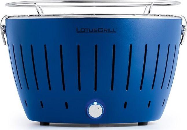 LotusGrill Grill ogrodowy węglowy ruszt 28 cm G280 niebieski  1