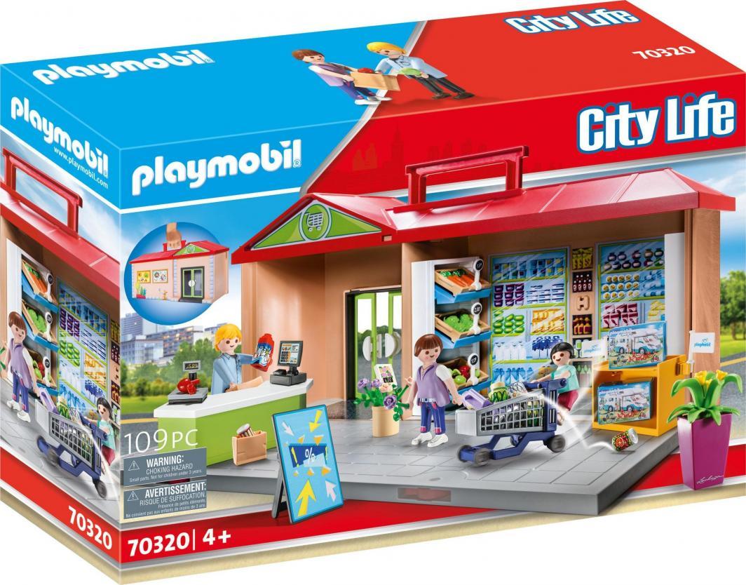 Playmobil Przenośny sklep z warzywami 1