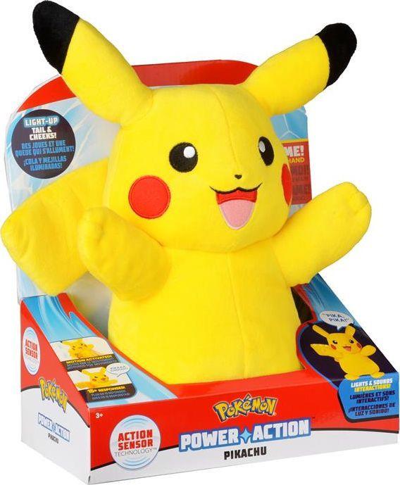 Wicked Cool Toys Pokemon Power Action Pikachu żółty 1