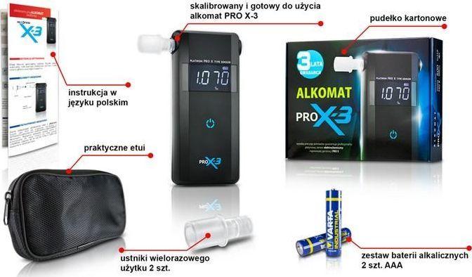 Alkomat Promiler Alkomat PRO X-3 1