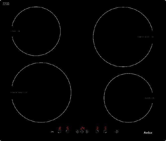 Płyta grzewcza Amica MPI6540TU 1