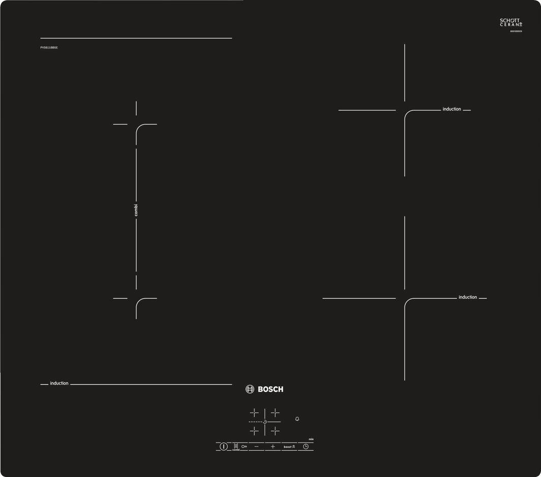 Płyta grzewcza Bosch PVS611BB5E 1
