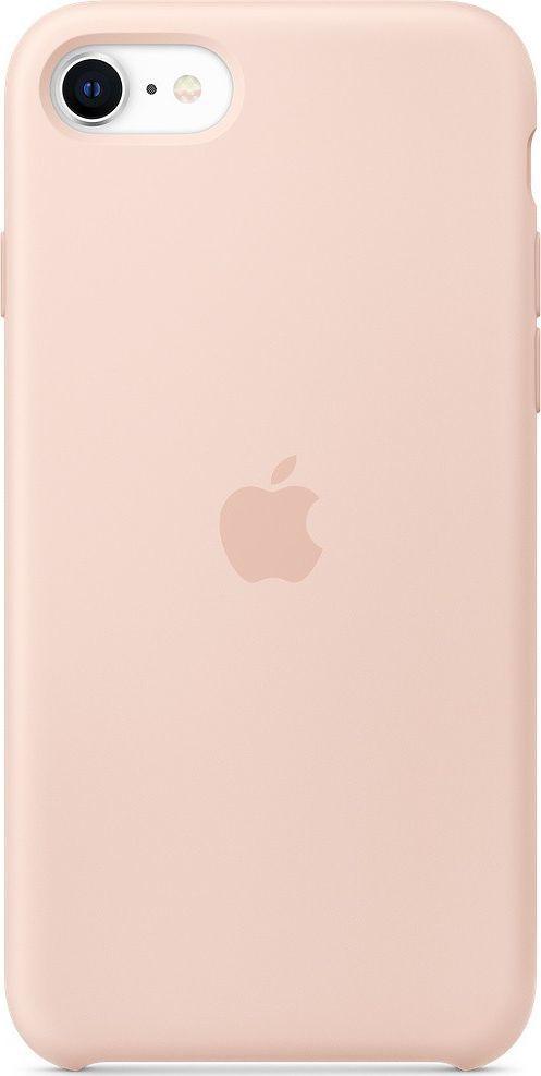 Apple Silikonowe etui do iPhone SE piaskowy róż-MXYK2ZM/A 1
