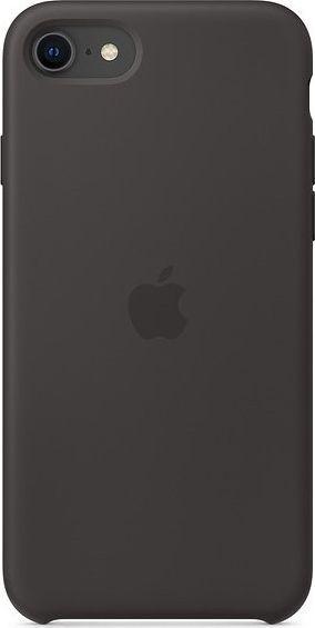 Apple Silikonowe etui do iPhone SE czarne-MXYH2ZM/A 1