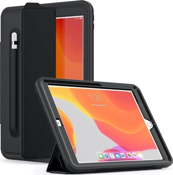 Etui do tabletu Alogy Etui Alogy Defender Cover do Apple iPad 10.2 2019 7Gen czarne uniwersalny 1
