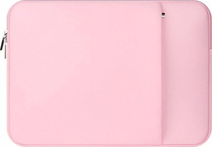 """Etui 4kom.pl Neopren Macbook Air/Pro 14"""" Różowy 1"""