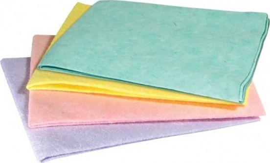 Ścierka 34x38cm, mix kolorów, 1szt, 90g, viskoza 1