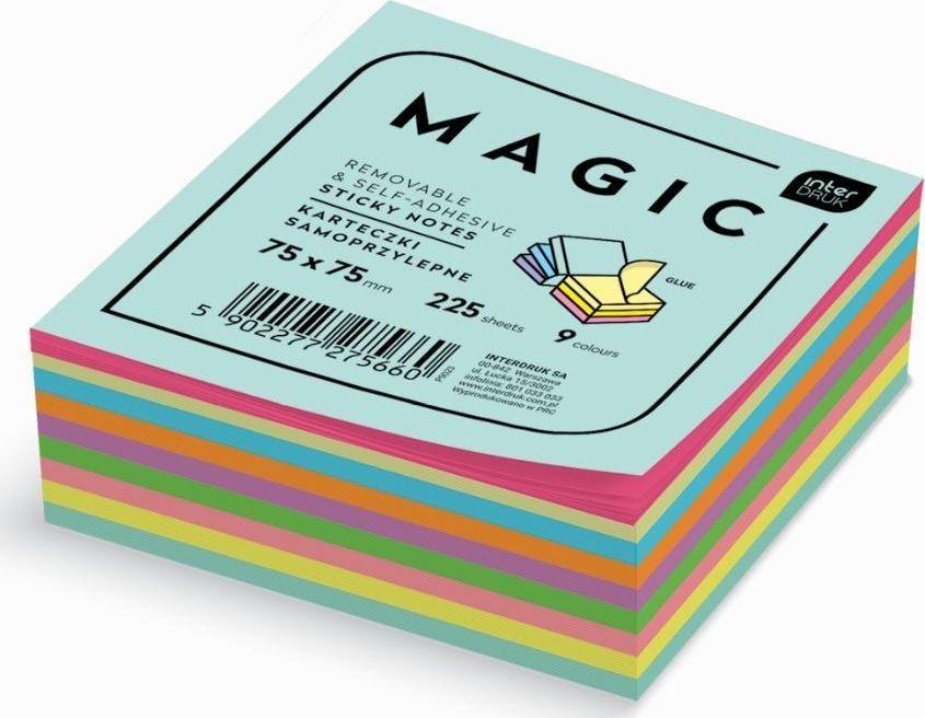 Interdruk Karteczki samoprzylepne Magic Cube 75x75mm 225K 1