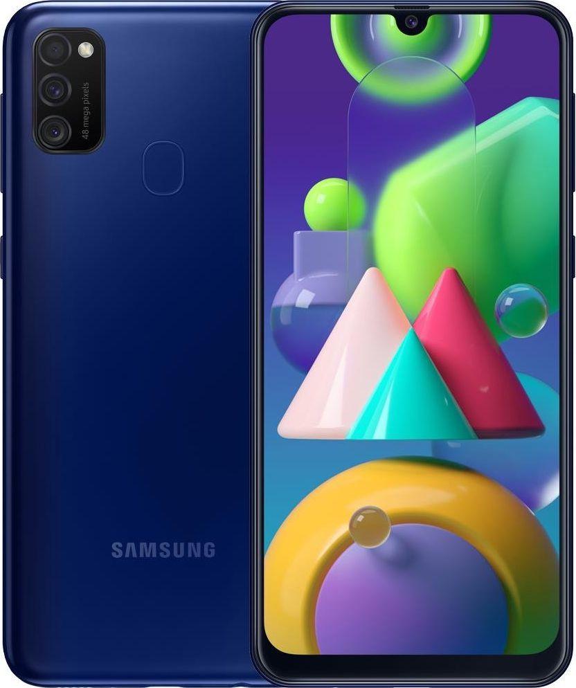Smartfon Samsung Galaxy M21 64GB Dual SIM Niebieski (SM-M215FZB) 1