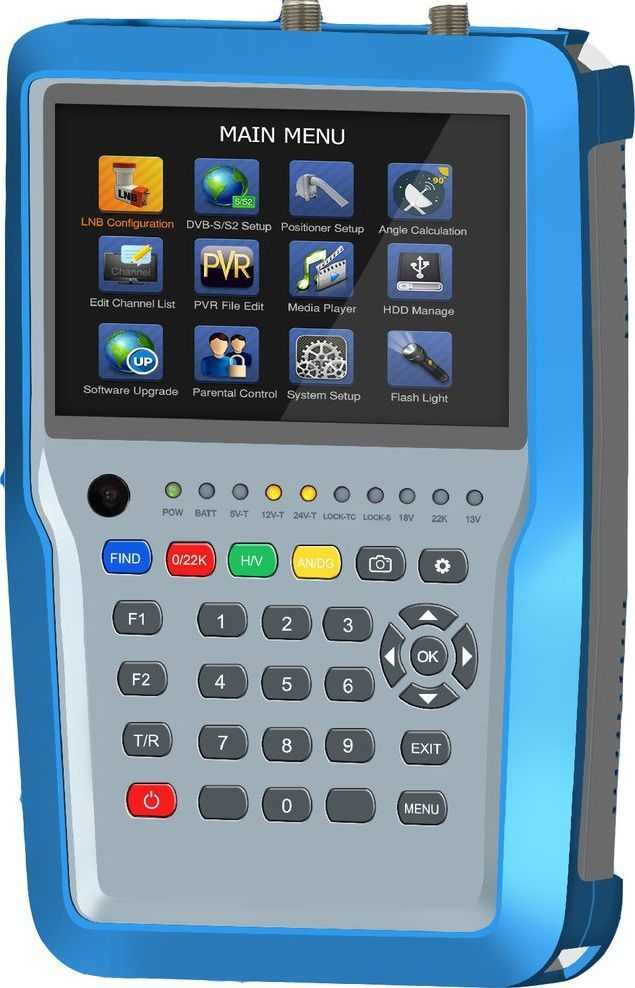 SAT-LINK Miernik combo Satlink HW7380 S2/T2/C UHD 1