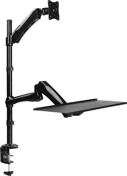 """LogiLink Uchwyt biurkowy na monitor 13"""" - 27"""" i klawiaturę (BP0030) 1"""