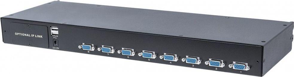Przełącznik Intellinet Network Solutions Przełącznik KVM Intellinet 8-portowy VGA/USB/PS2, modułowy 1