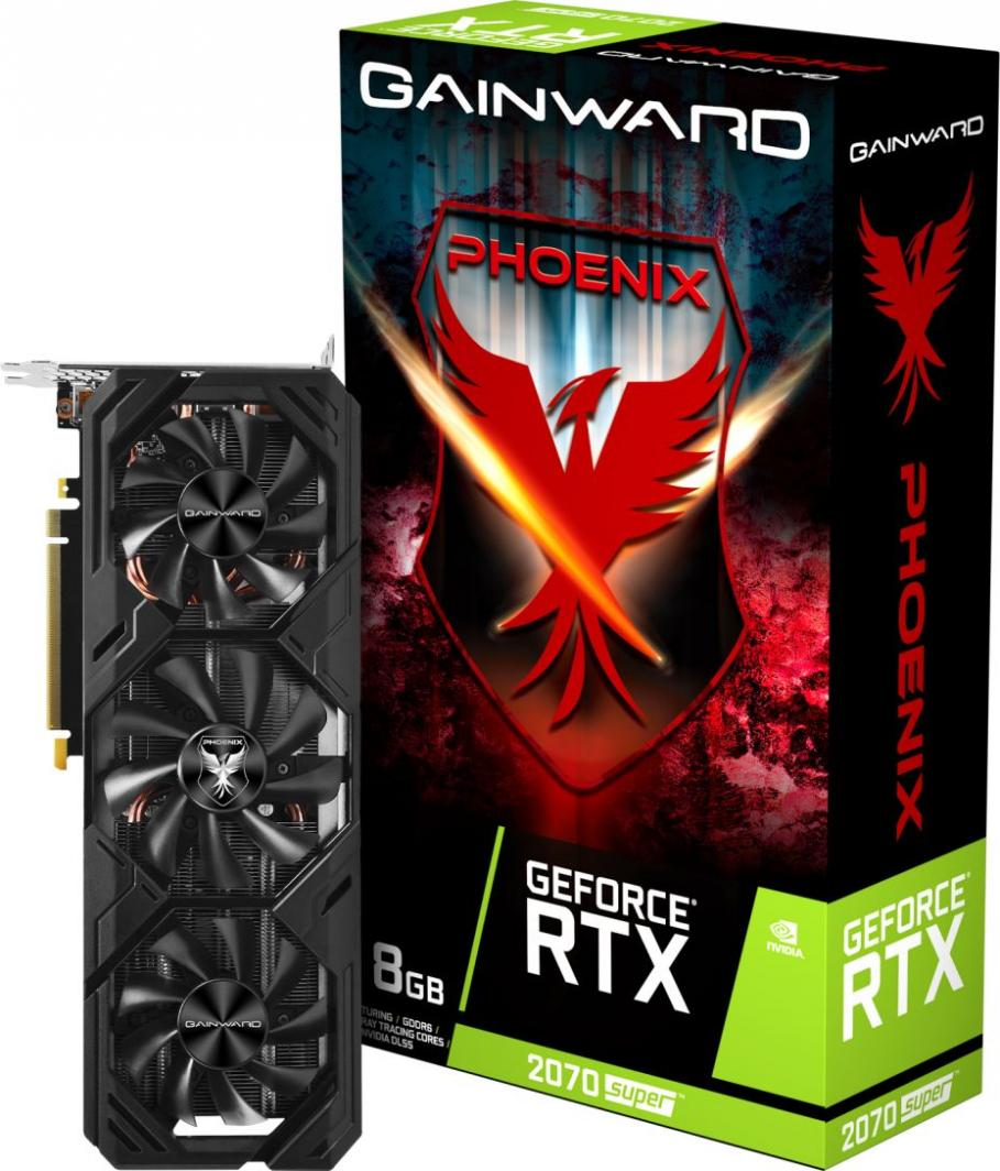 Karta graficzna Gainward GeForce RTX 2070 SUPER Phoenix V1 8GB GDDR6 (471056224-1730) 1