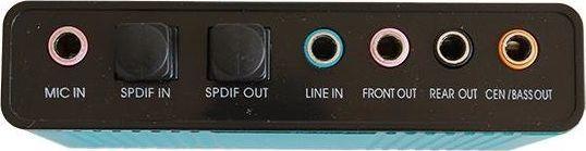 Karta dźwiękowa Oxford AK103E USB 7.1 1
