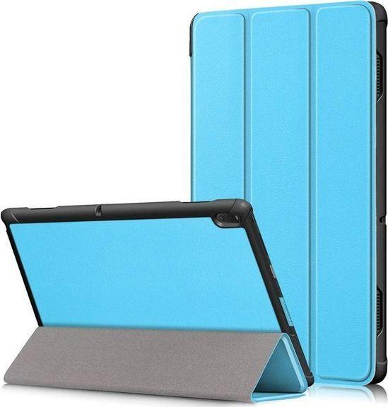 Etui do tabletu Alogy Etui Alogy Book Cover do Lenovo Tab E10 10.1 TB-X104F/L Niebieskie + Szkło uniwersalny 1