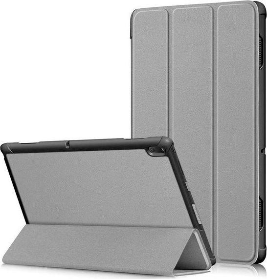 Etui do tabletu Alogy Etui Alogy Book Cover do Lenovo Tab E10 10.1 TB-X104F/L Szare + Szkło uniwersalny 1