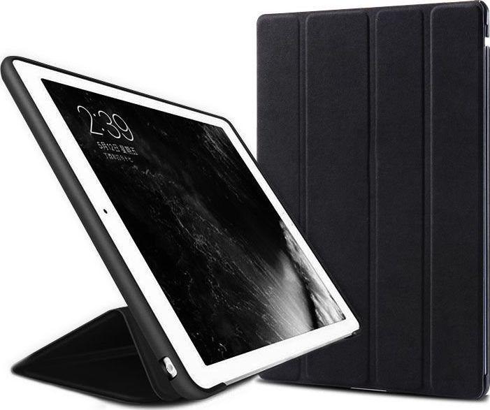 Etui do tabletu Alogy Etui Alogy Smart Case Apple iPad 2 3 4 silikon Czarne + Szkło uniwersalny 1