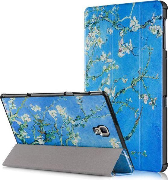 Etui do tabletu Alogy Etui Alogy Book Cover do Galaxy Tab A 10.5 T590/ T595 Kwitnący migdałowiec (van Gogh) + Szkło uniwersalny 1