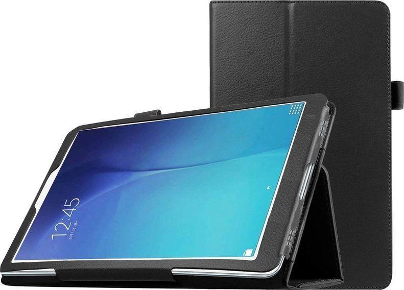 Etui do tabletu 4kom.pl Etui stojak do Samsung Galaxy Tab A 8.0 2019 T290/ T295 Czarne + Folia ochronna + Rysik uniwersalny 1