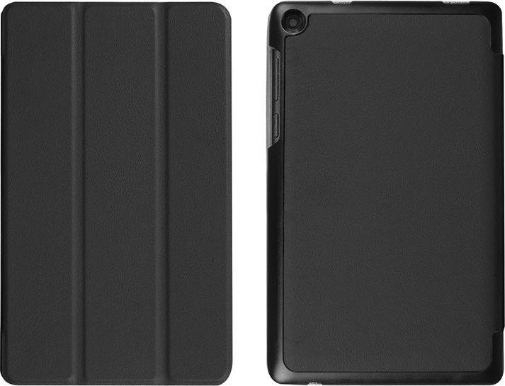 Etui na tablet 4kom.pl Etui book cover do Lenovo Tab3 A7-10 essential Czarne uniwersalny 1