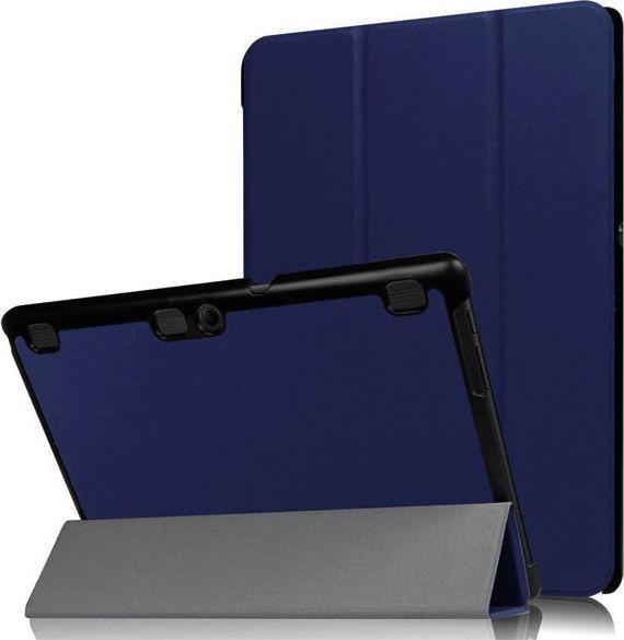 Etui do tabletu 4kom.pl Czarne etui skórzane PU typu Stojak Book Cover do Lenovo Tab2 A10-70 uniwersalny 1