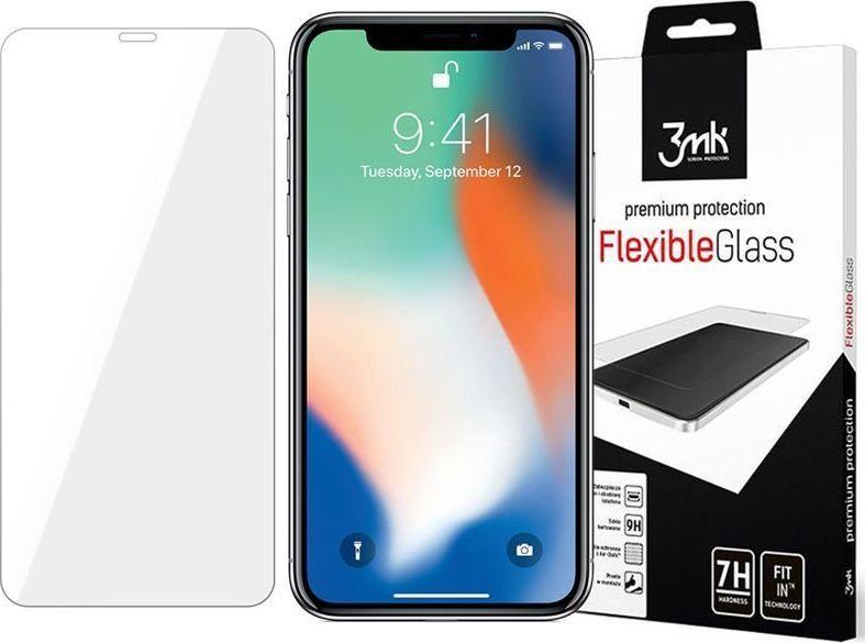 3MK Szkło 3mk Flexible Glass 7H Apple iPhone 11 Pro Max + Szkło na obiektyw uniwersalny 1