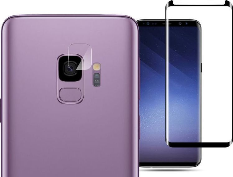 Mocolo Mocolo Szkło na ekran TG+3D + szkło na aparat Samsung Galaxy S9 uniwersalny 1