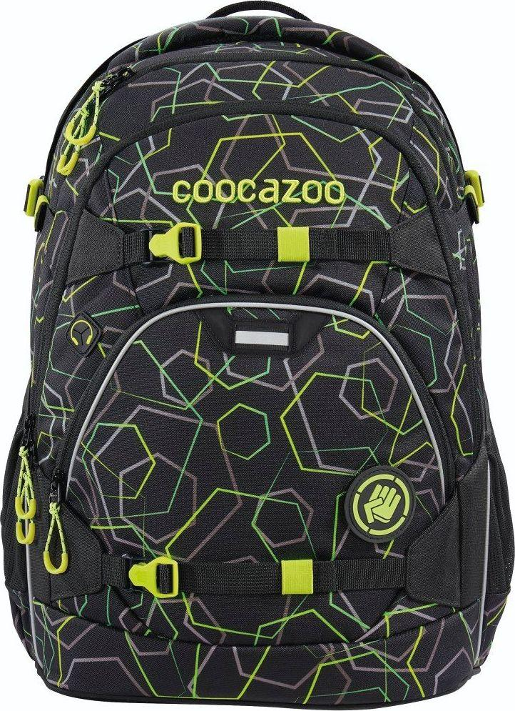 Coocazoo Plecak szkolny ScaleRale Laserbeam Black 1