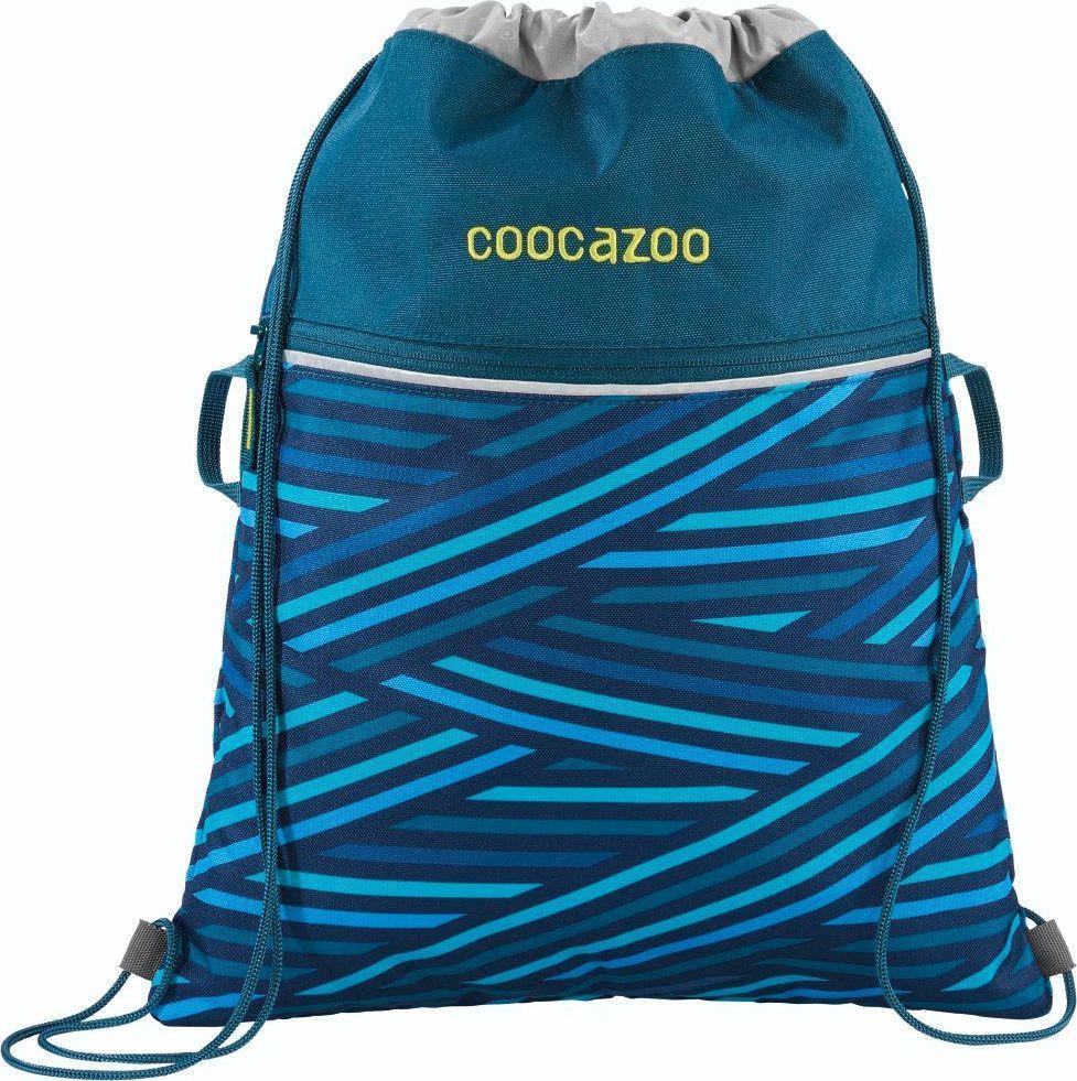 Coocazoo Worek na buty RocketPocket II Zebra Stripe Blue 1