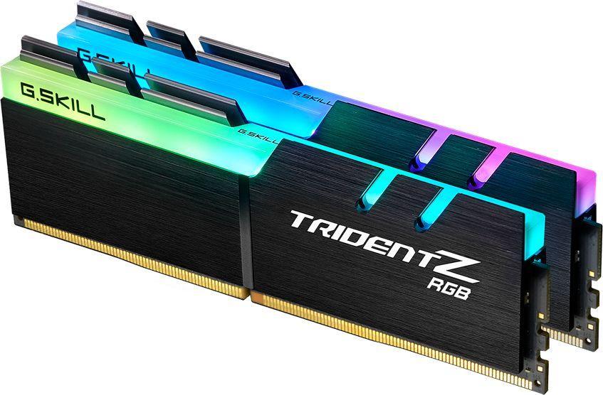 Pamięć G.Skill Trident Z RGB, DDR4, 64 GB, 3200MHz, CL16 (F4-3200C16D-64GTZR) 1