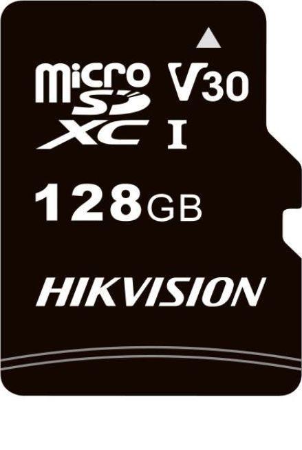 Karta Hikvision C1 MicroSDHC 128 GB UHS-I V30 (HS-TF-C1(STD)/128G/Adapter) 1
