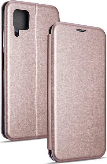 Etui Book Magnetic Huawei P40 Lite różowo-złoty 1