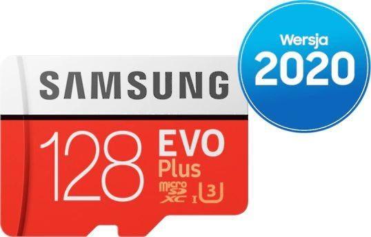 Karta Samsung Evo Plus MicroSDXC 128 GB Class 10 UHS-I/U3  (MB-MC128HA/EU) 1