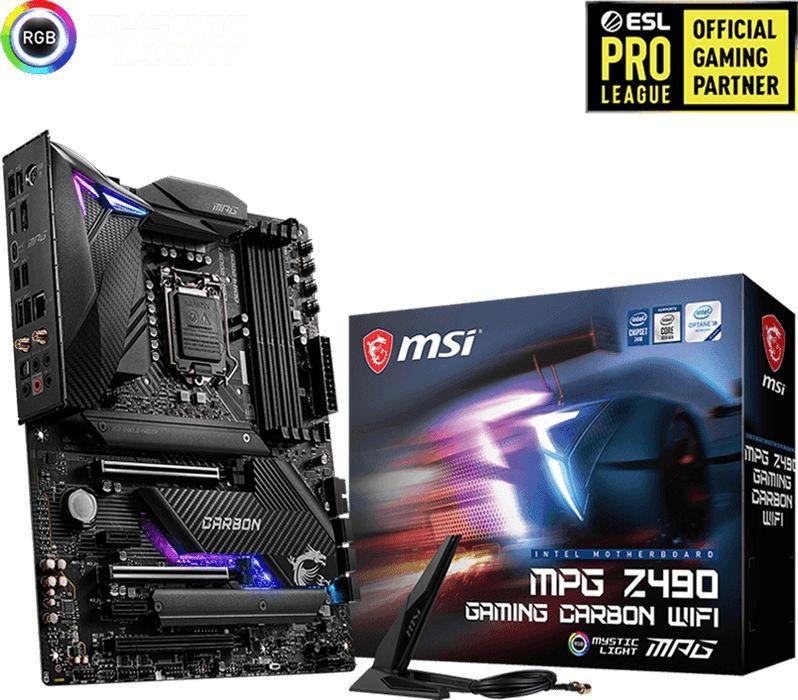 Płyta główna MSI MPG Z490 GAMING CARBON WIFI 1