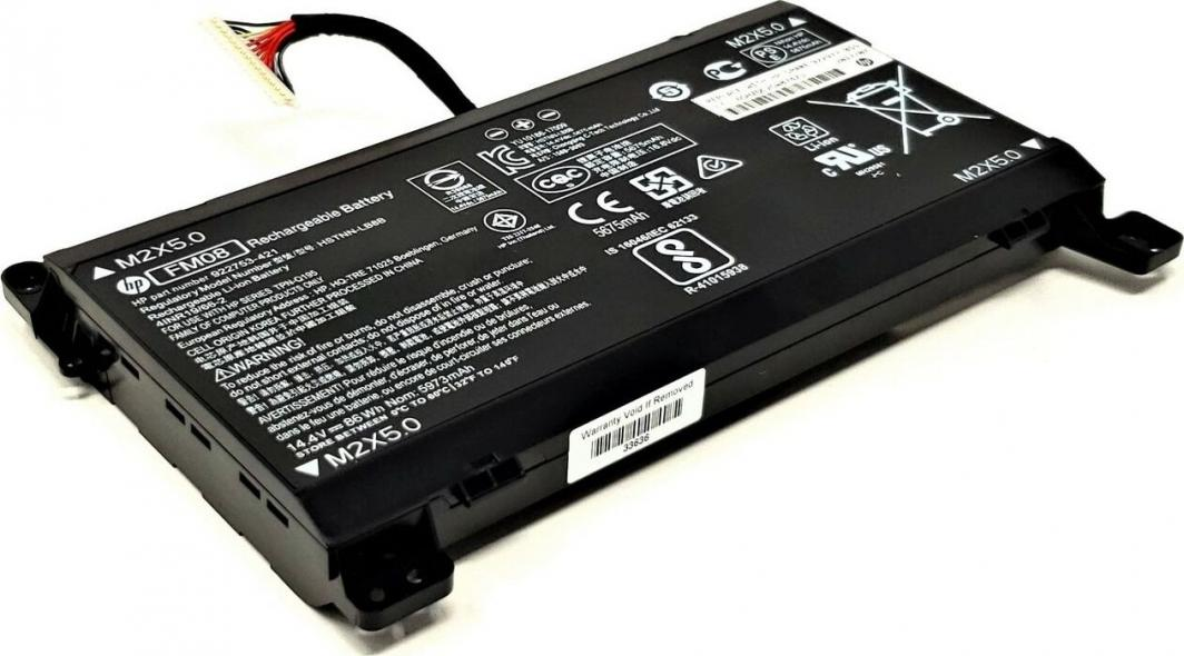 Bateria HP 82Whr 2.8Ah (922976-855) 1