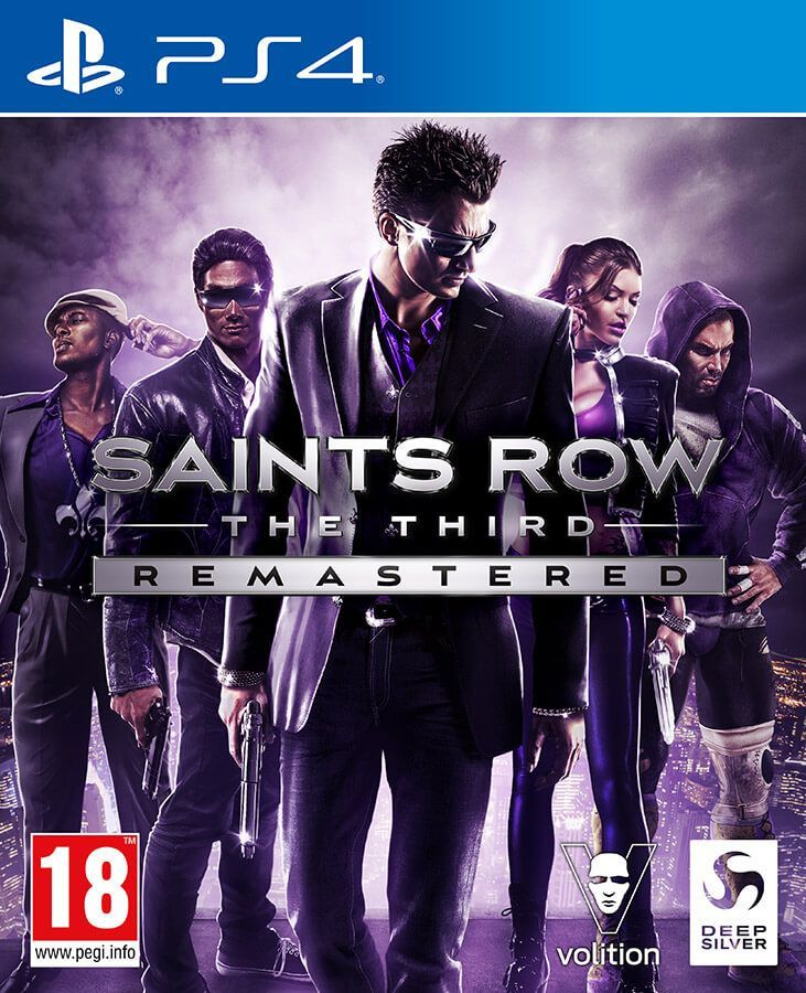 Saints Row The Third Remastered -4020628725419 PS4 1